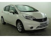 2014 Nissan Note TEKNA DIG-S Petrol white CVT
