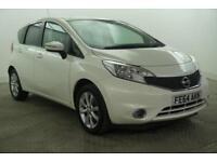 2014 Nissan Note ACENTA DIG-S Petrol white CVT