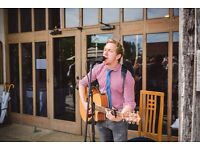 Professional singer & acoustic guitarist available for your wedding!