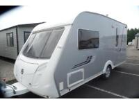 Swift Conqueror 480 TOP OF THE RANGE Two berth touring caravan with end washroom