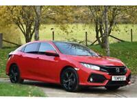 2018 Honda Civic Ex I-Dtec Hatchback Diesel Manual