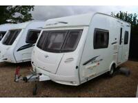 Lunar Stellar 400 2010 2 Berth Caravan + Motor Mover + End Kitchen Layout