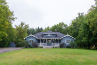 4 Bedroom Bungalow on 1.25 acre lot in Limoges
