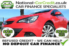 Vauxhall Astra 2.0 CDTI 16V S/S SRI GTC 165PS Good / Bad Credit Car Finance (red) 2013
