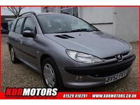 2002 Peugeot 206 Sw Xt 2.0 Hdi 5 SPEED MANUAL 118K P/X TO CLEAR