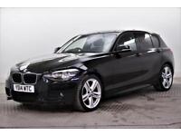 2014 BMW 1 Series 116D M SPORT Diesel black Manual
