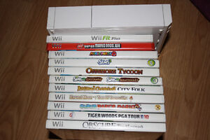 Wii and Wii Fitness Board
