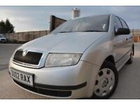 SKODA FABIA CLASSIC 1.4 AUTOMATIC 5 DOOR*OCTOBER MOT*2 OWNERS*CHEAP AUTO*