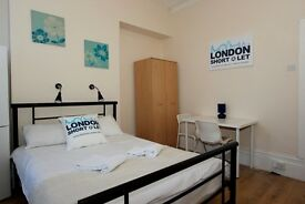 Nice and cosy , fully furnished short let apartment in Willesden Green- London for holiday (#Red B)