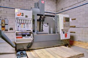 2017 HAAS VF-3 CNC VERTICAL MACHINING CENTER - FAILED START-UP