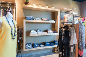 Handcrafted Wood Shelving Unit
