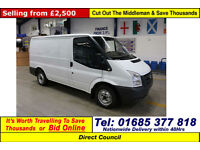 2007 - 07 - FORD TRANSIT T260 2.2TDCI 85PS FWD SWB VAN (GUIDE PRICE)