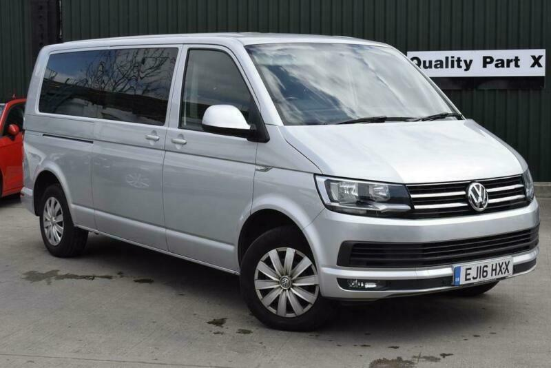 f61bdbd34a 2016 Volkswagen Transporter Shuttle 2.0 TDI BlueMotion Tech T32 S Mini Bus  DSG