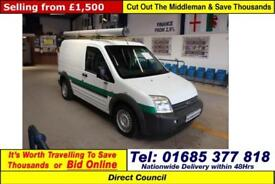 2009 - 58 - FORD TRANSIT CONNECT T200 1.8TDCI 75PS SWB VAN (GUIDE PRICE)