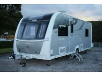 Elddis Crusader Aurora 4 Berth Rear Island Bed Caravan 2017 Inc Mover