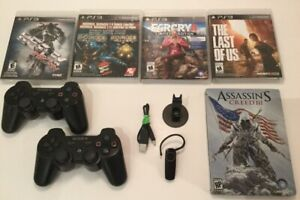 Manettes PS3 - Assassins Creed - Last of Us - Bluetooth -