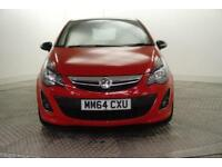 2014 Vauxhall Corsa LIMITED EDITION Petrol red Manual