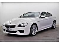 2016 BMW 6 Series 640D M SPORT GRAN COUPE Diesel white Automatic