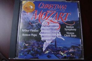 Cd de musique Christmas with Mozart Rca VICTOR