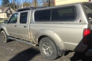 Nissan Frontier crew cab, long bed