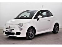 2013 Fiat 500 S Petrol white Manual