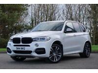 2014 BMW X5 3.0 M50d SUV 5dr Diesel Automatic 4x4 (start/stop) (177 g/km,