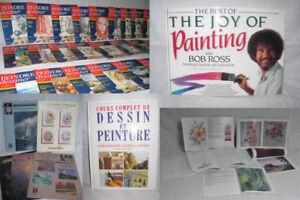 37 Livres de peinture d'artisanat