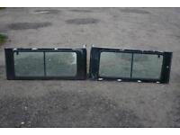 Land Rover Defender Sliding Side Windows