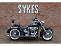 2015 Harley-Davidson FLSTN Softail Deluxe in Black