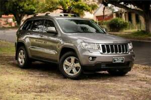 2013 JEEP GRAND CHEROKEE  LAREDO (4x4) MY13 DIESEL TURBO 3.0L 5SP Auto Welshpool Canning Area Preview