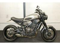 YAMAHA XSR700 ABS ** Low Mileage - Aftermarket Exhaust - Cafe Racer Style **
