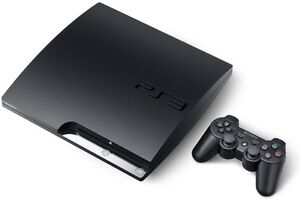 PlayStation3 320GB System Slim and games