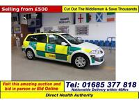 2008 - 57 - RENAULT MEGANE EXPRESSION 1.9DCI 5 DOOR ESTATE (GUIDE PRICE)
