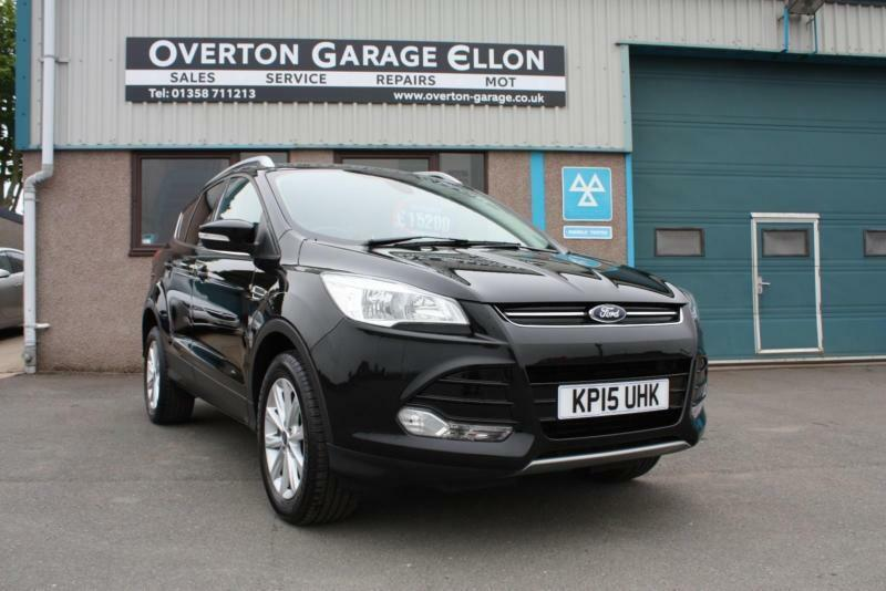2017 Ford Kuga Anium 2 0 Tdci 180ps 4wd Sel Black Manual