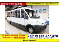 2008 - 58 - IVECO IRISBUS 50C15 4.0HPI 15 SEAT MELLOR BODY DISBALED ACCESS BUS
