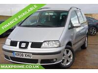 2008 08 SEAT ALHAMBRA 2.0 TDI REFERENCE 5DR DIESEL
