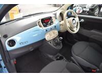 2016 Fiat 500 1.2 Pop Star (s/s) 3dr Petrol blue Manual