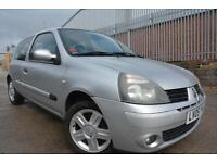 RENAULT CLIO EXTREME 1.2 16V 3 DOOR*FULL 12 MONTHS MOT*CAMBELT CHANGED*