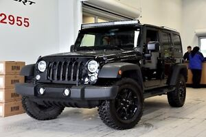 2015 Jeep Wrangler Unlimited,SPORT,WILLY'S CUIR BRUN +TRÈS RARE