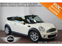 2013 Mini Mini 1.6 One CONVERTIBLE-HEATED SEATS-MOOD LIGHTS-LOW MILES-FULL S. H.