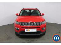 2019 Jeep Compass 1.4 Multiair 140 Longitude 5dr [2WD] CrossOver Petrol Manual