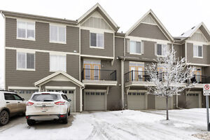 Newer Townhouse with very low condo fee. 3 Bed 2.5 Baths Dbl Gar