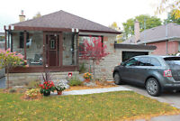 Home For Lease in Etobicoke! Available Dec 1st!