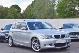 BMW 130i M SPORT 3.0 PETROL MANUAL 5DR HATCHBACK 2005 [55] SILVER