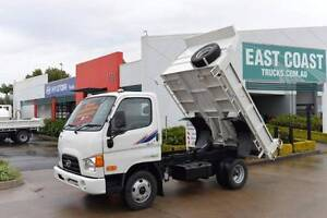 HYUNDAI HD 45 ** BRAND NEW ** LOW KLMS ** TIPPER ** #4843 Archerfield Brisbane South West Preview