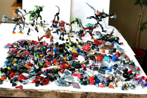 Huge Collection of LEGO Bionicles and Others