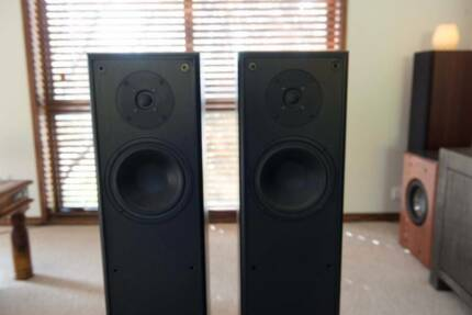 Tall 2-way tower speakers