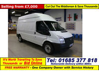 2014 - 14 - FORD TRANSIT T350 2.2TDCI 100PS RWD HIGH-TOP LWB VAN (GUIDE PRICE)