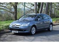 Citroen C4 1.6HDi 16v (110hp) VTR Plus, ONE OWNER FROM NEW, 87,000 MILES ONLY