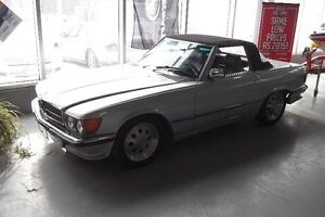 1981 Mercedes-Benz 380SL Convertible Also Have Optional Hard Top